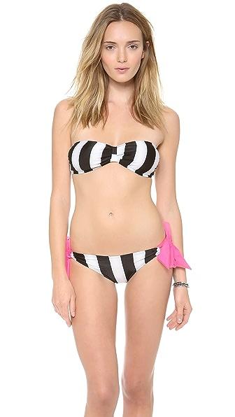 Giejo Butterfly Bandaeu Bikini Top