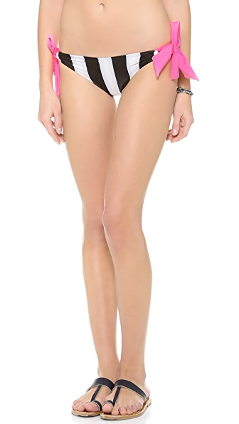 Giejo Mixed Tie Side Bikini Bottoms