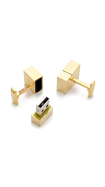 Gift Boutique USB Flash Drive Cufflinks