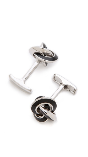 Gift Boutique Sterling Silver Knot Cufflinks