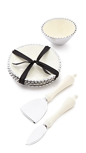 Gift Boutique Lunares Beaded Appetizer Serving Set