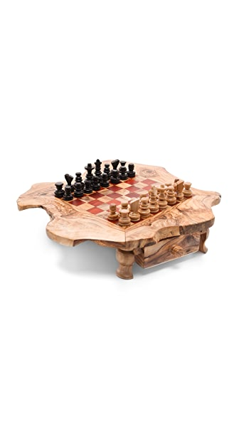 Gift Boutique Natural Wood Chess Board