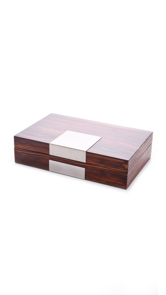 Gift Boutique Finished Wood Jewelry Box