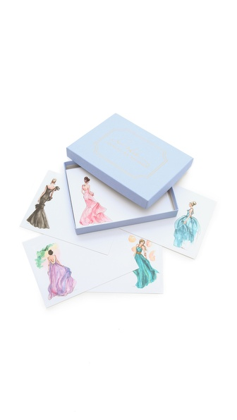 Gift Boutique Inslee By Design Girls In Gowns Card Set