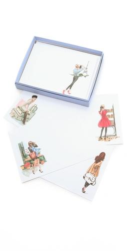 Gift Boutique Inslee By Design Jet Set Postcard Set