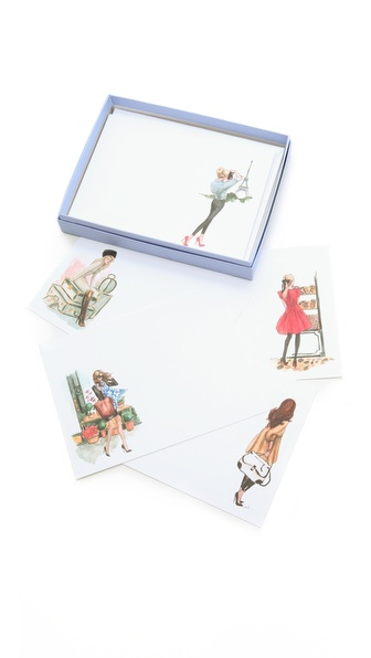 Gift Boutique Inslee By Design Jet Set Postcard Set