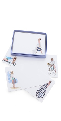 Gift Boutique Inslee By Design Nautical Chic Postcard Set