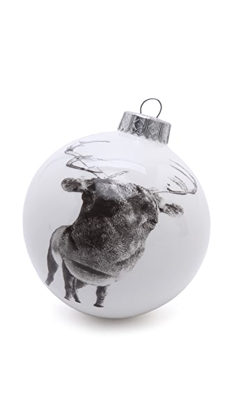 Gift Boutique Reiko Kaneko Rusty Reindeer Christmas Bauble Ornament