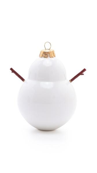Reiko Kaneko Snowman Ornament