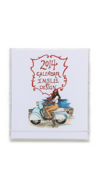 Gift Boutique Inslee 2014 Little Calendar