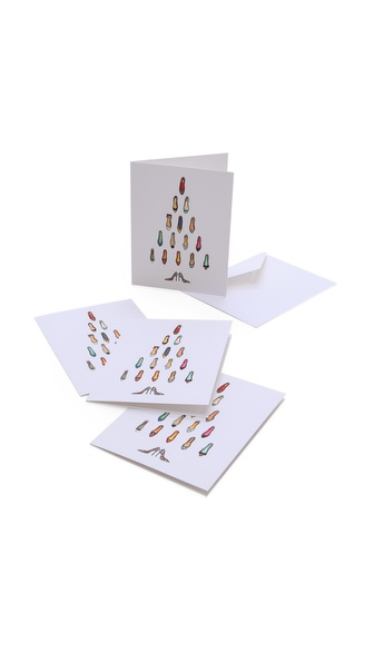Gift Boutique Inslee By Design Shoe Tree Card Set