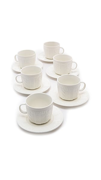 Gift Boutique Classic Coffee & Tea Sweater Cup and Saucer Set