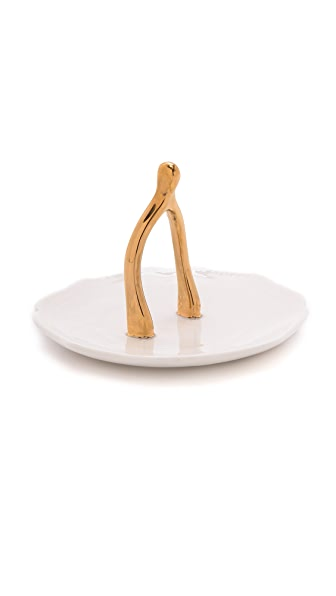 Gift Boutique Wishbone Ring Holder