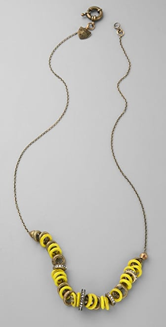 Giles & Brother Ladybug Necklace
