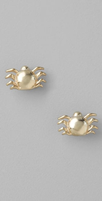 Giles & Brother Tiny Spider Stud Earrings