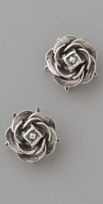 Giles & Brother Rose Studs