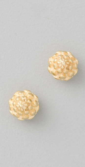 Giles & Brother Pinecone Stud Earrings