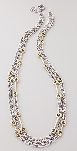 Giles & Brother Multi Archer Chain Necklace