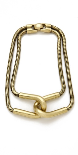 Giles & Brother Cortina Snake Chain Necklace