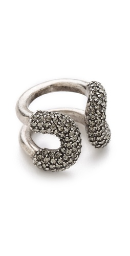 Giles & Brother Encrusted Cortina Ring