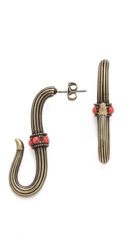Giles & Brother Serpent Hook Earrings