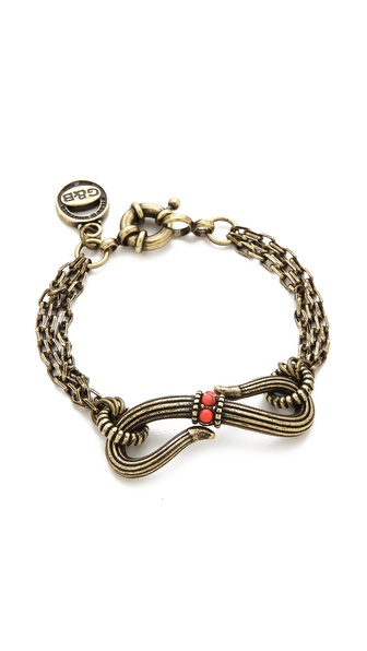 Giles & Brother Serpent Multi Chain Bracelet