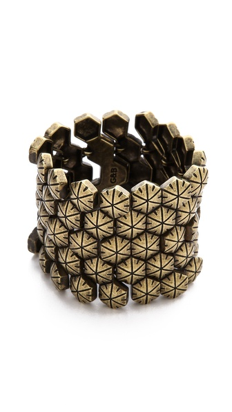 Giles & Brother Hex Mesh Bracelet