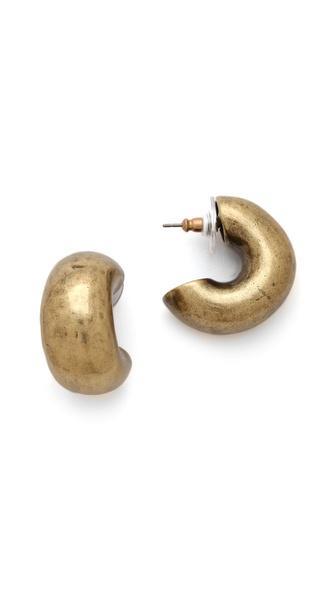 Giles & Brother Huge Cortina Hoop Earrings