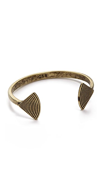 Giles & Brother Fan Cuff Bracelet