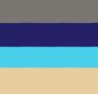 Antique Brass/Lapis/Turquoise