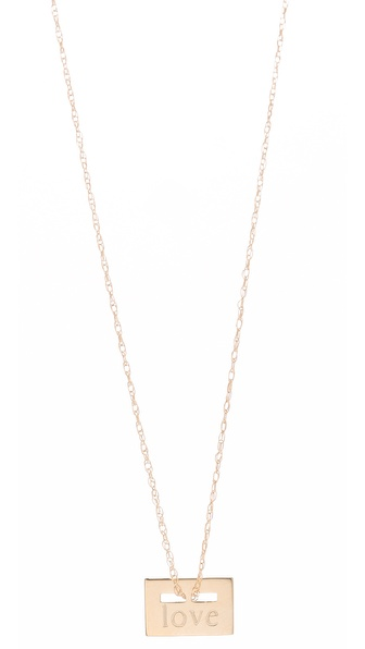 ginette_ny Love Necklace