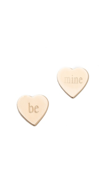 ginette_ny Be Mine Petal Studs