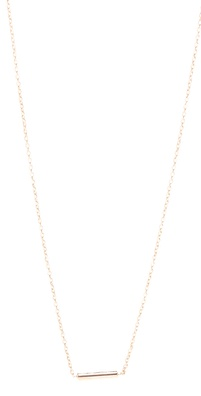 ginette_ny Gold Strip Necklace