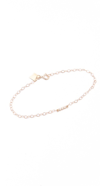 ginette_ny Horizontal Diamonds Bracelet