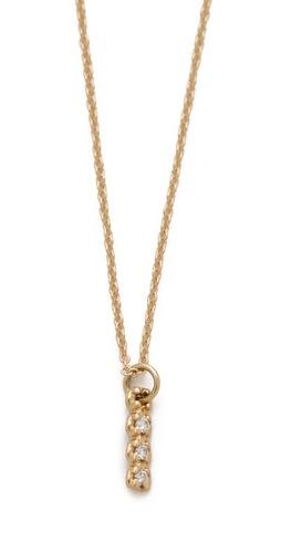 ginette_ny Vertical Diamond Necklace