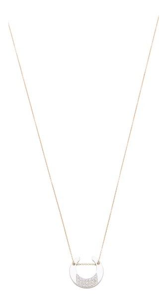 ginette_ny Diamond Masai Chain Necklace
