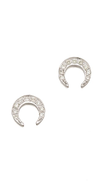 ginette_ny Diamond Masai Stud Earrings
