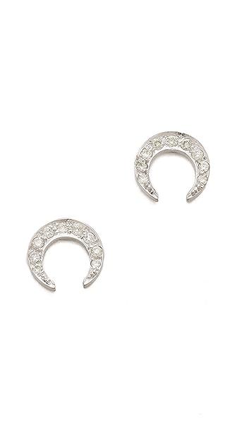 ginette_ny Diamond Masai Stud Earrings