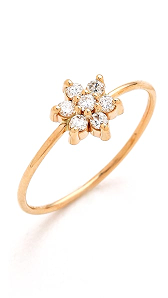 ginette_ny Diamond Star Ring