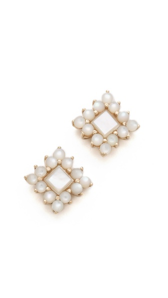 ginette_ny Mother of Pearl Stud Earrings