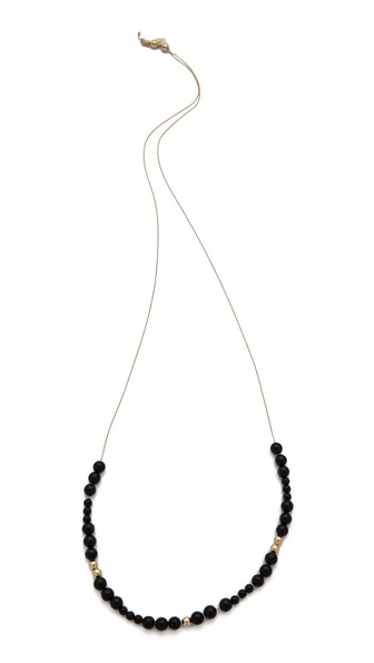 ginette_ny Satisfaction Onyx Boulier Necklace