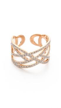 ginette_ny Volute Diamond Ring