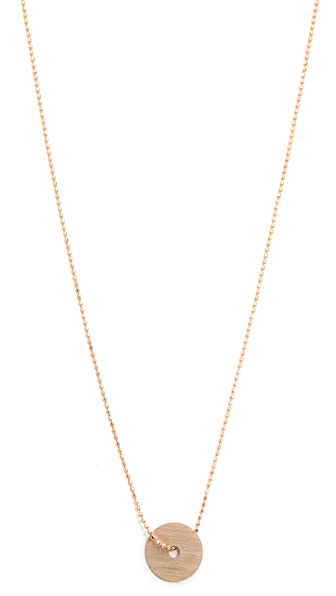 ginette_ny Disc on Chain Necklace