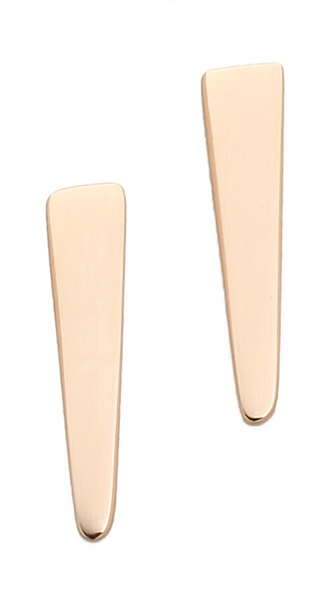 ginette_ny Mini Arrow Stud Earrings