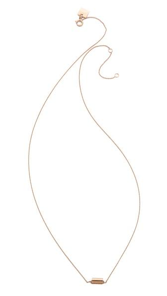 ginette_ny Mini Straw Necklace