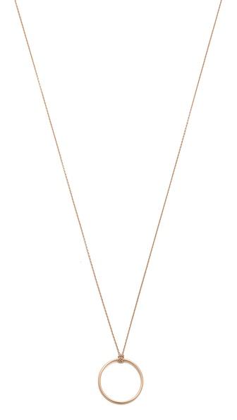 ginette_ny Mini Circle Necklace