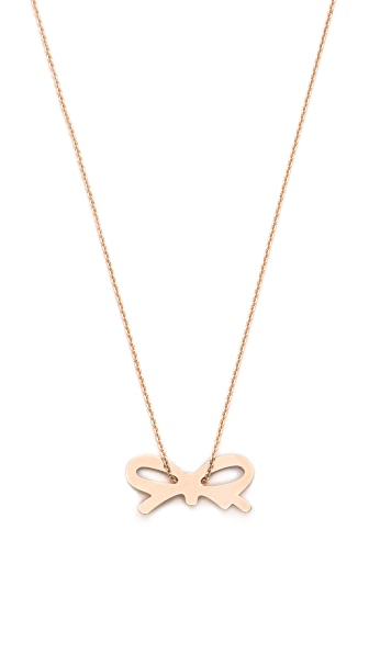 ginette_ny Mini Bow Necklace