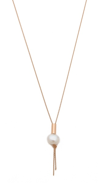 ginette_ny Single Cultured Freshwater Pearl Necklace