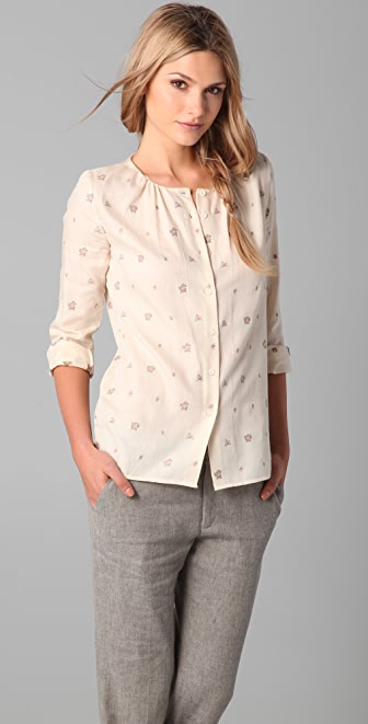 Girl. by Band of Outsiders Bancroft Blouse