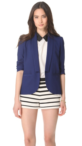 Girl. by Band of Outsiders Stitch Lapel Blazer